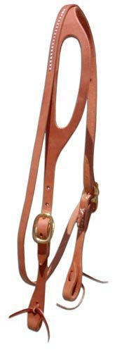 Shaped Ear Headstall w/Throat Latch - Animal Health Express