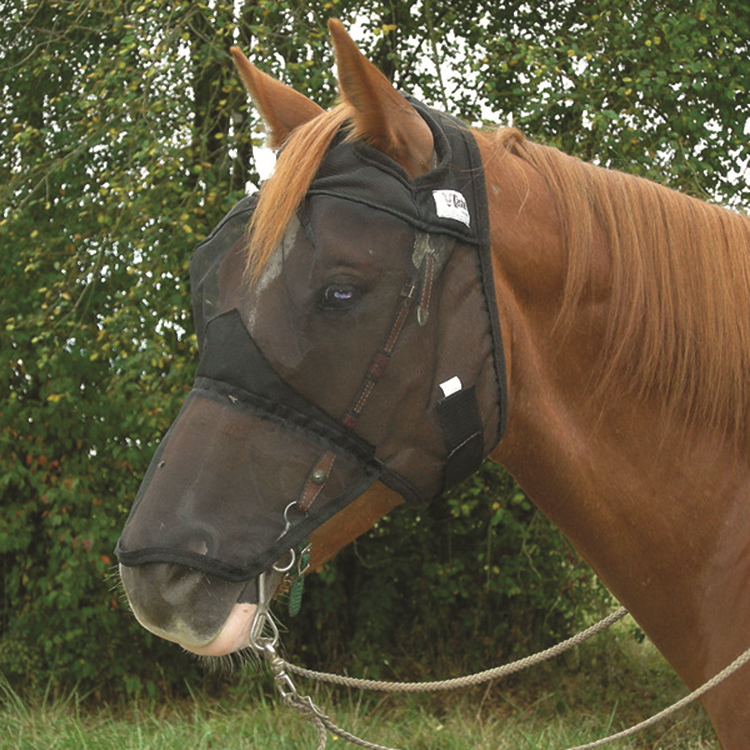 Cashel Quiet Ride Fly Mask with Long Nose
