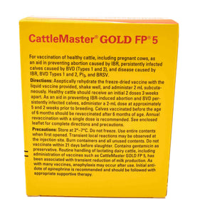 Zoetis CattleMaster Gold FP 5 Cattle Vaccine