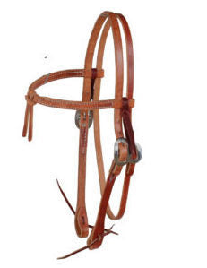 knotted bowband headstall