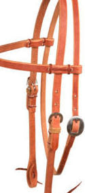 Browband Headstall No Stitching - Animal Health Express