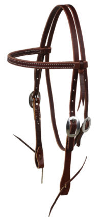 Latigo Browband Headstall - Animal Health Express