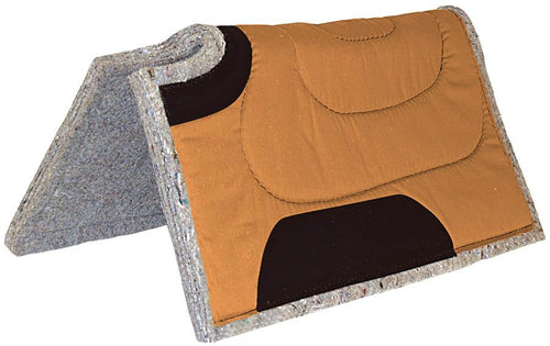 Mustang 30 X 30 Cut Back Canvas Top Felt Pad - Animal Health Express