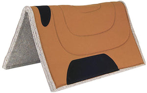 Mustang 30 X 30 Square Canvas Top Felt Pad - Animal Health Express