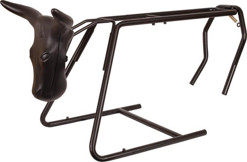 Mustang Collapsible Roping Dummy with Stand, Horn Wrap and Steer Head - Animal Health Express