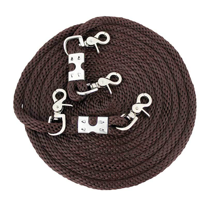 Partrade Poly Draw Reins 16'
