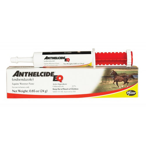 Anthelcide Equine Paste Wormer - Animal Health Express