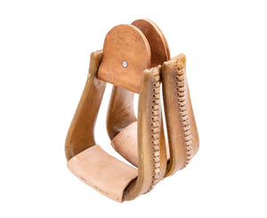 Roper Stirrups-Leather