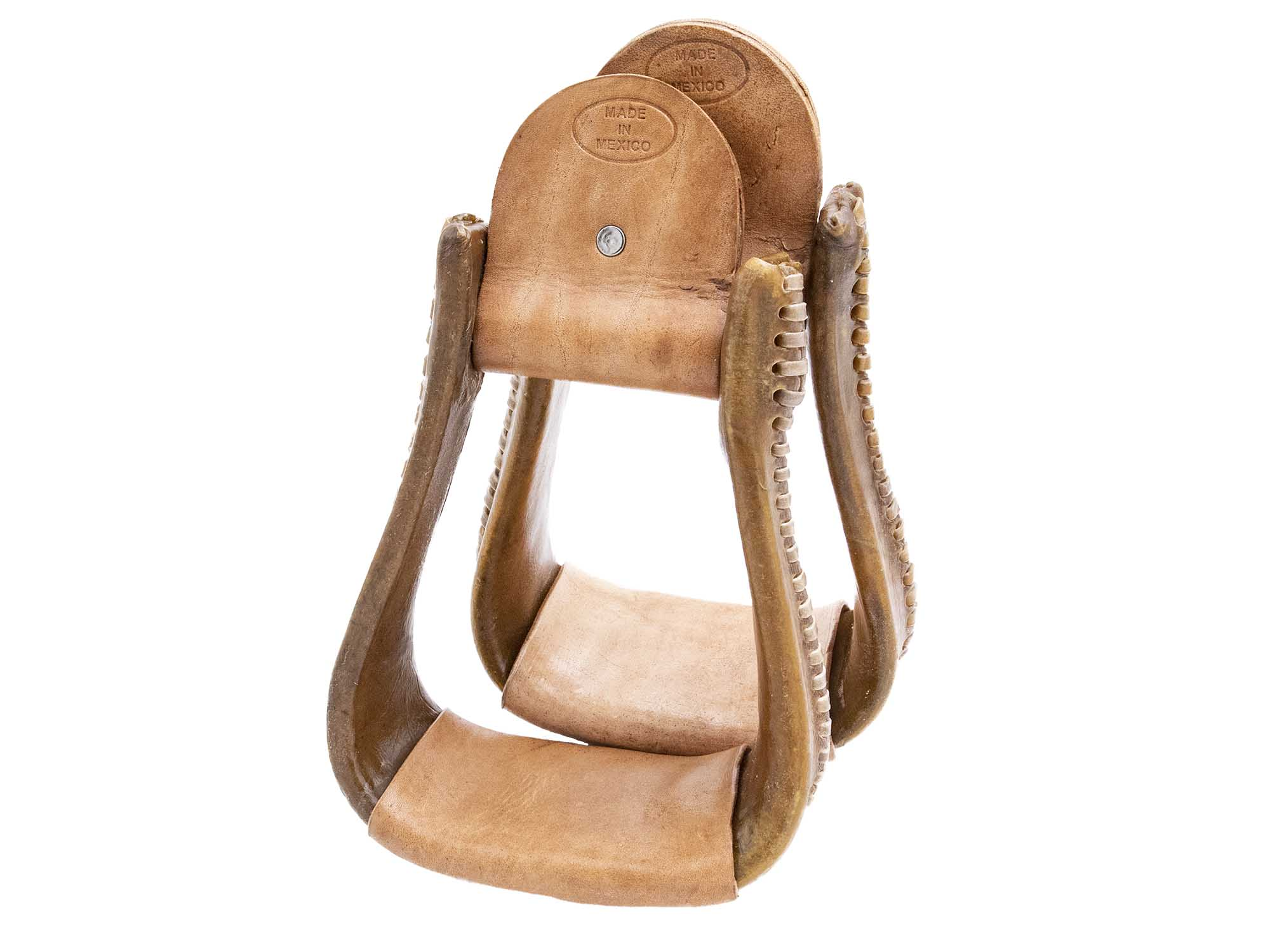 Load image into Gallery viewer, Bell Rawhide Stirrups
