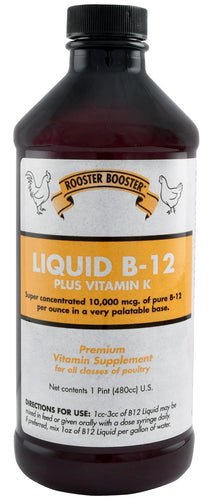 Rooster Booster Liquid B-12 - Animal Health Express