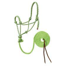 Weaver Leather Diamond Braid Reflective Rope Halter and Lead