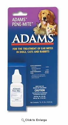 Adams Ear Mite Treatment - Animal Health Express