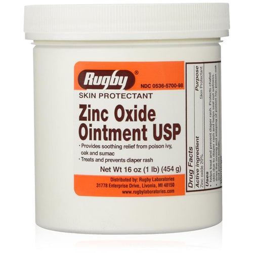 Rugby Zinc Oxide Ointment USP