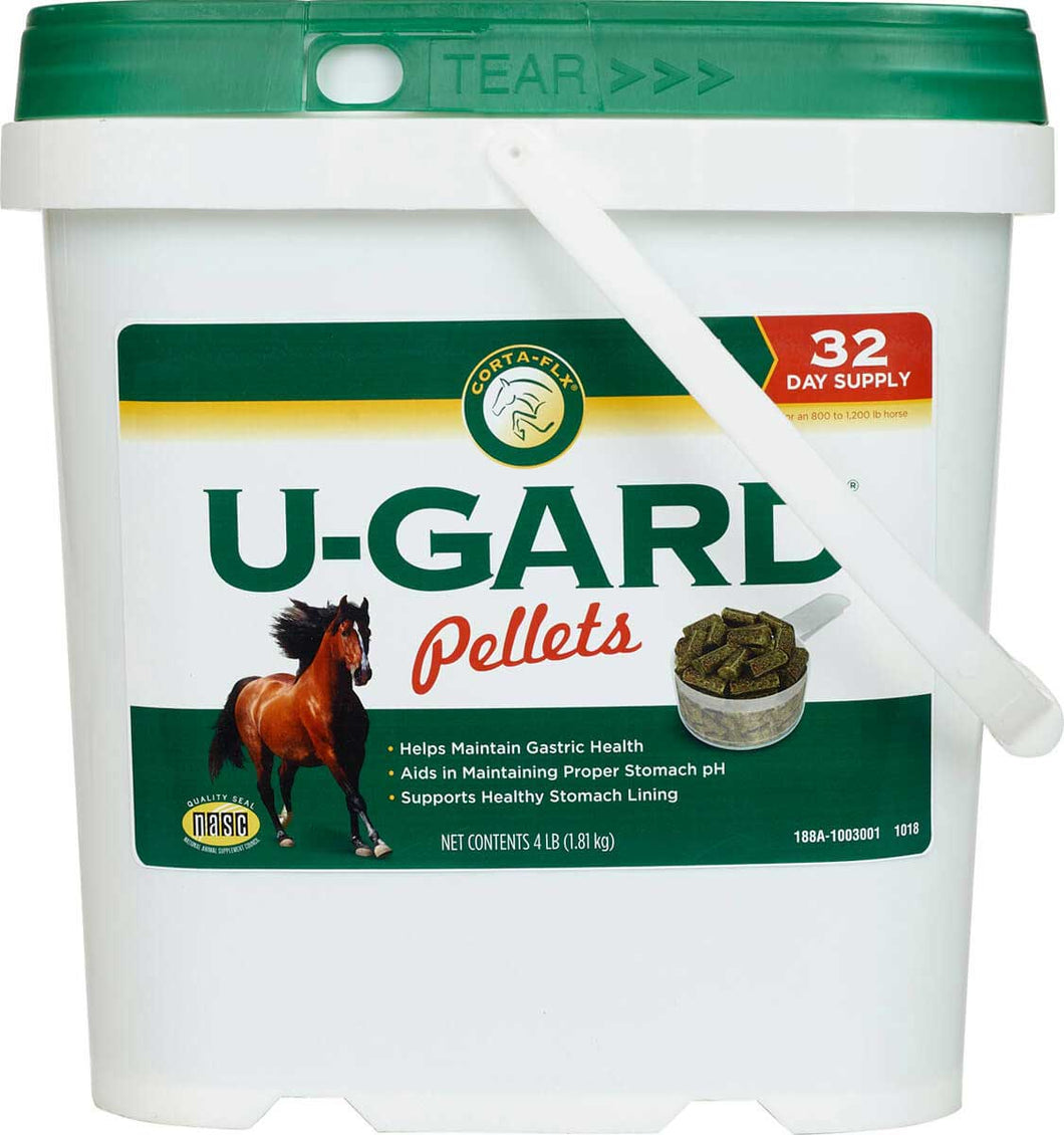 U-Gard Pellets and Solution for Horses