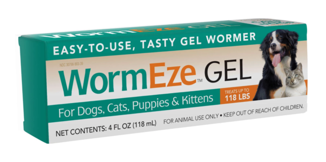 Load image into Gallery viewer, WormEze Liquid or Gel Wormer for Dogs and Cats