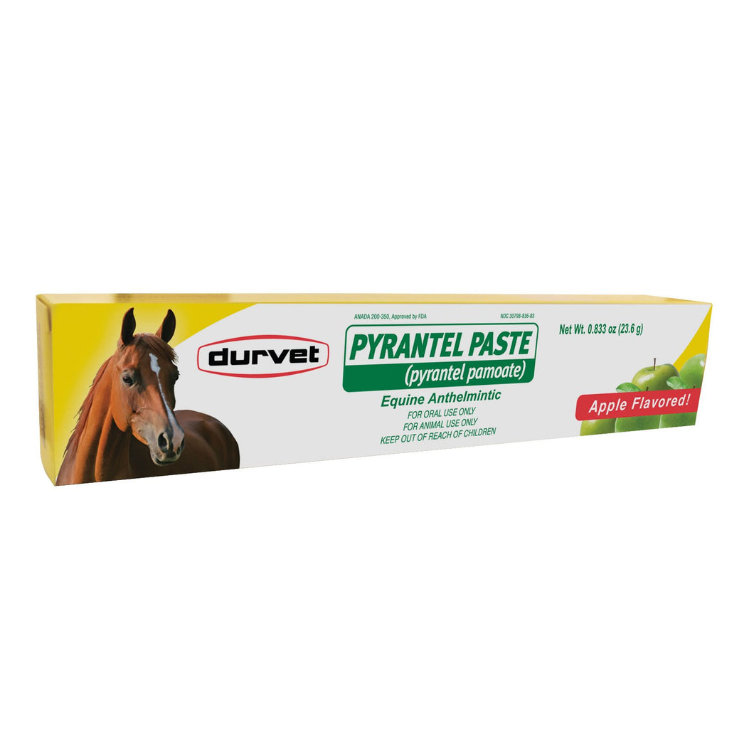 Durvet Pyrantel Paste Dewomer for Horses and Ponies