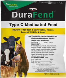 DuraFend DeWormer - Animal Health Express