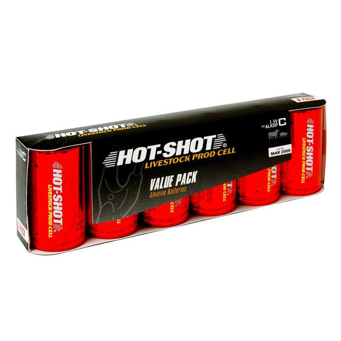 Hot Shot Alkaline C Battery for Cattle Prods