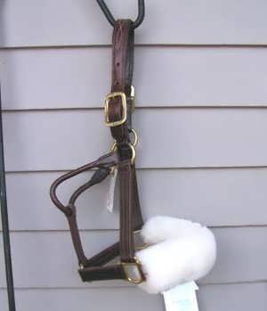 Sheepskin Noseband Cover - Animal Health Express