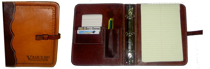 Load image into Gallery viewer, K Bar J Tooled Leather Daytimer - Animal Health Express