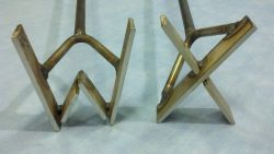 Stainless Steel Branding Iron - Animal Health Express