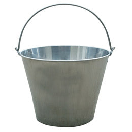Stainless Steel Dairy Pail - Animal Health Express