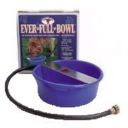 Galvanized Ever Full Bowl - Animal Health Express