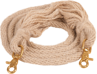 Mohair Roping Rein - Animal Health Express