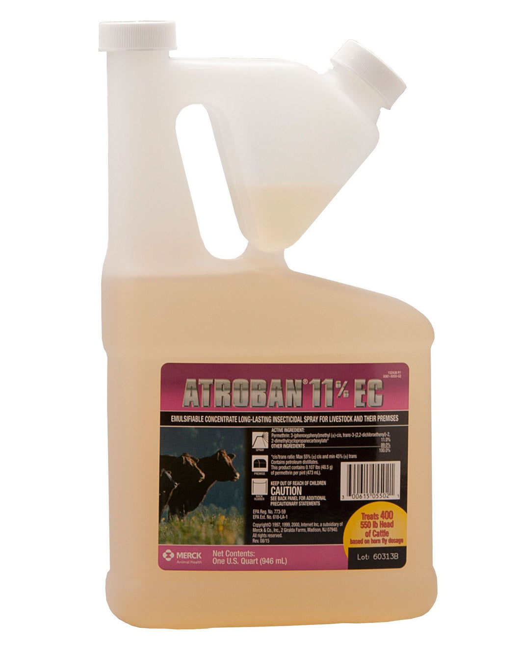 Atroban 11% EC (Emulsifiable Concentrate) Insecticide Spray - Animal Health Express