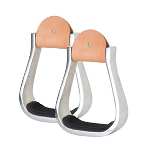 "3"" ALUMINUM BARREL STIRRUPS - Animal Health Express"