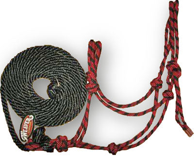 Diamond Rope Halter and Lead - Animal Health Express