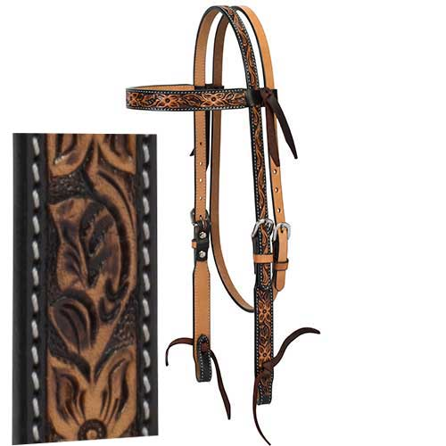 Floral Tooled Tack Collection - Animal Health Express