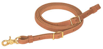 Flat Harness Leather Roper Rein - Animal Health Express