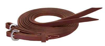 Stacey Westfall Protack Oiled Split Reins - Animal Health Express