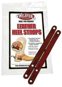 Heel Straps Latigo Leather - Animal Health Express