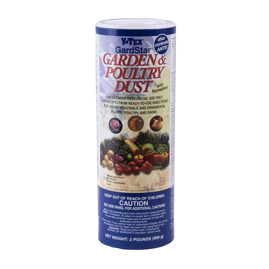 Y-Tex Garden and Poultry Dust - Animal Health Express
