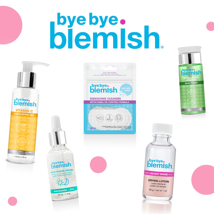 Bye Bye Blemish Lotion and Serum