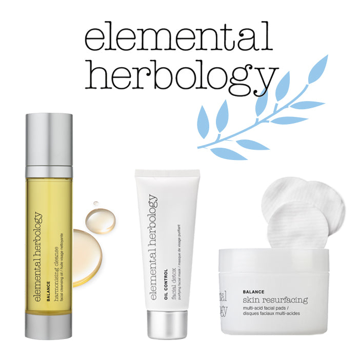 Elemental Herbology Oil Control Products