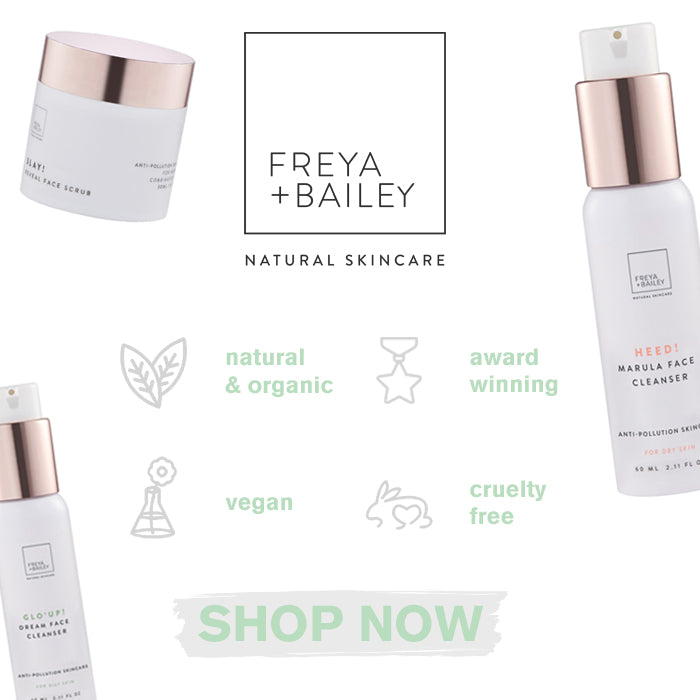Freya and Bailey Natural Skincare Products