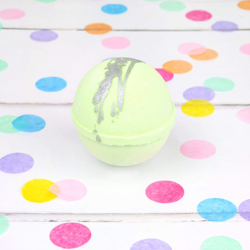 Bubu Body Glitterati Green Bath Bomb