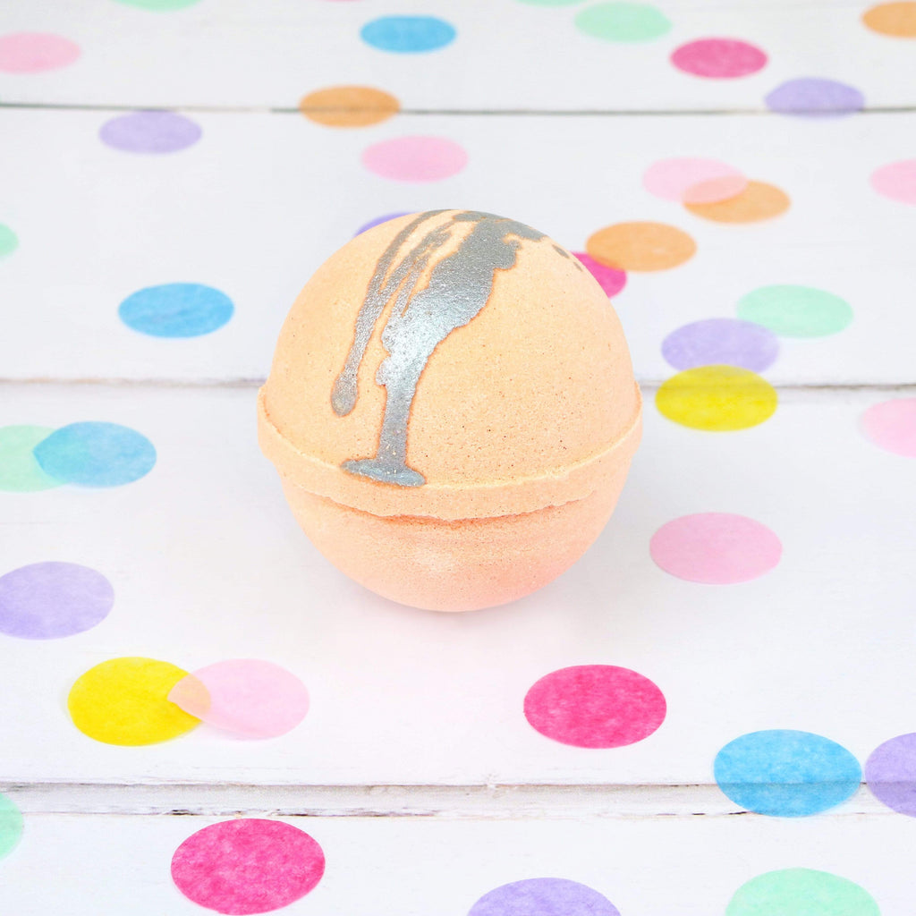 Bubu Body Glitterati Orange Bath Bomb