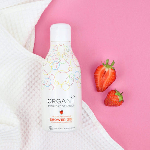 Organii Strawberry Shower Gel