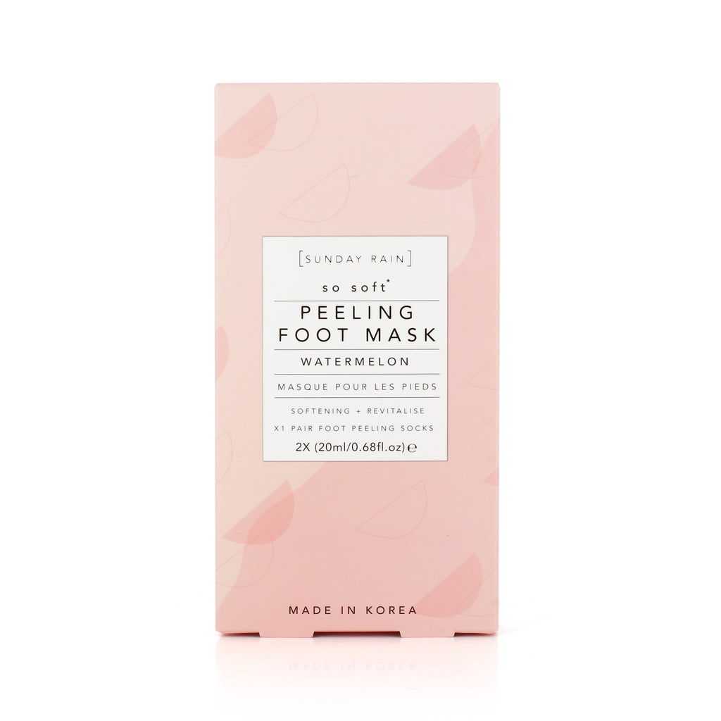 Watermelon Foot Peel Mask