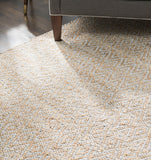 Zircon Gray Diamond Jute & Cotton Rug