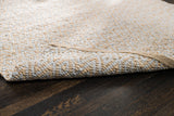 Zircon Gray Diamond Jute & Cotton Rug Backing