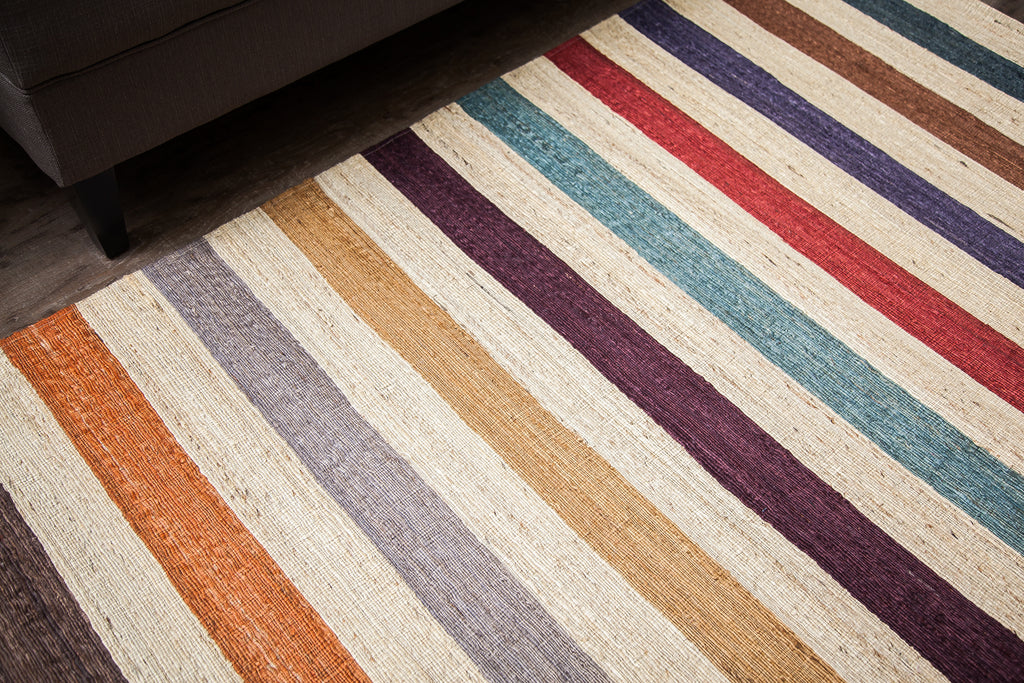 Caity Bates Jute Area Rug Close Up