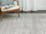 Gray Slate Cotton & Jute Rug