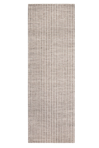 "2'6"" x 8' Russett Cotton & Jute Rug Runner"
