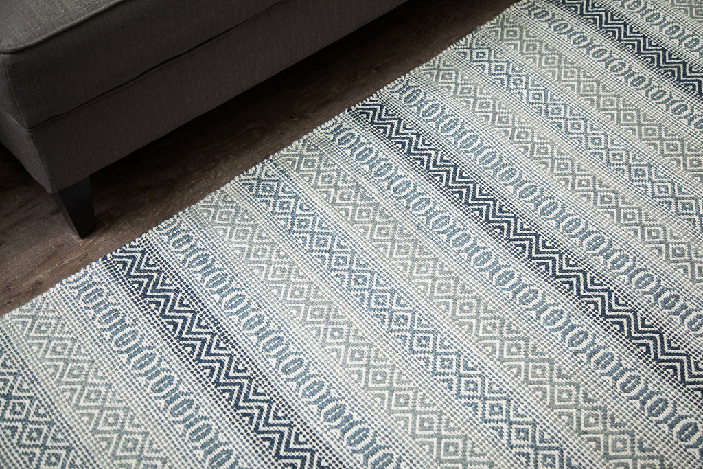 Hazel Hoo Cotton & Jute Area Rug