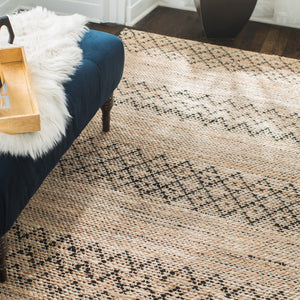 Black Creek Jute & Cotton Rug